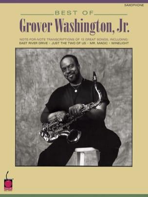 Best Of Grover Washington, Jr. Partition Saxophone - laflutedepan