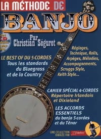 La méthode de banjo 4 & 5 cordes laflutedepan