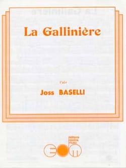 La Gallinière - Joss Baselli - Partition - laflutedepan.com