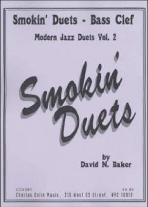 Smokin Duets Volume 2 - Bass Clef - David N. Baker - laflutedepan.com