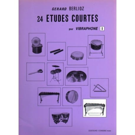 24 Etudes Courtes Volume I - BERLIOZ - Partition - laflutedepan.com