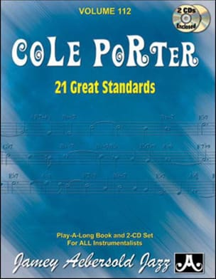 Volume 112 - Cole Porter - 21 Great Standards - laflutedepan.com