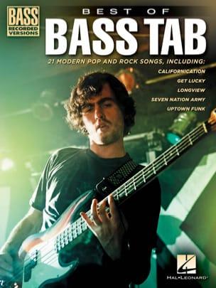 Best of Bass Tab Partition Pop / Rock - laflutedepan