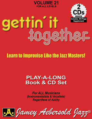 Volume 21 - Gettin' It Together METHODE AEBERSOLD laflutedepan