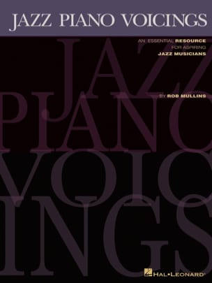 Jazz Piano Voicings - Rob Mullins - Partition - laflutedepan.com
