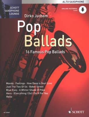 Pop Ballads Partition Saxophone - laflutedepan