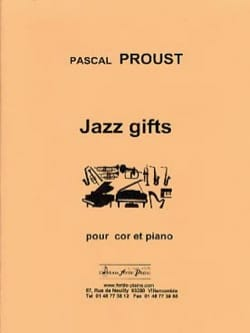 Jazz gifts Pascal Proust Partition Cor - laflutedepan