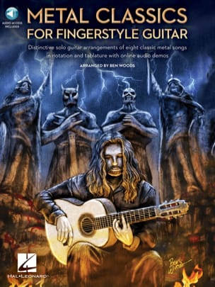 Metal Classics for Fingerstyle Guitar - laflutedepan.com