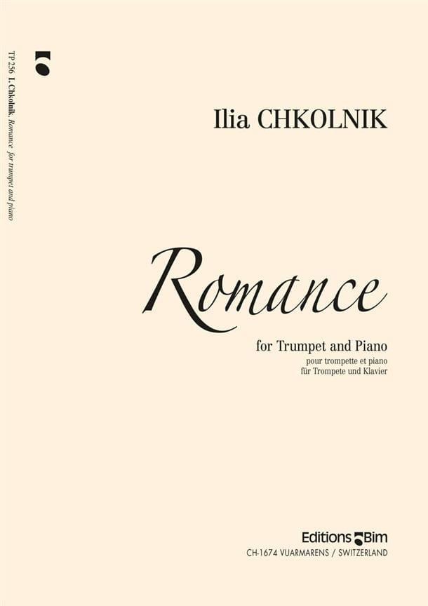 Romance - Ilia Chkolnik - Partition - Trompette - laflutedepan.com