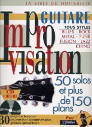 Improvisation guitare - Jean-Jacques Rébillard - laflutedepan.com