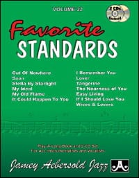 Volume 22 avec 2 CDs - Favorite Standards laflutedepan