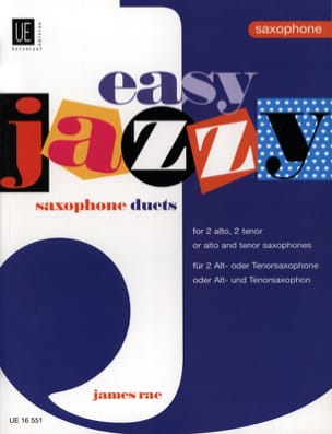 Easy Jazzy Saxophone Duets James Rae Partition laflutedepan