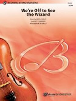 We're Off to See The Wizard Le Magicien d'Oz Partition laflutedepan