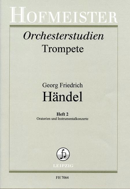 Orchesterstudien Heft 2 - Oratorien & Instrumentalkonzerte - laflutedepan.com