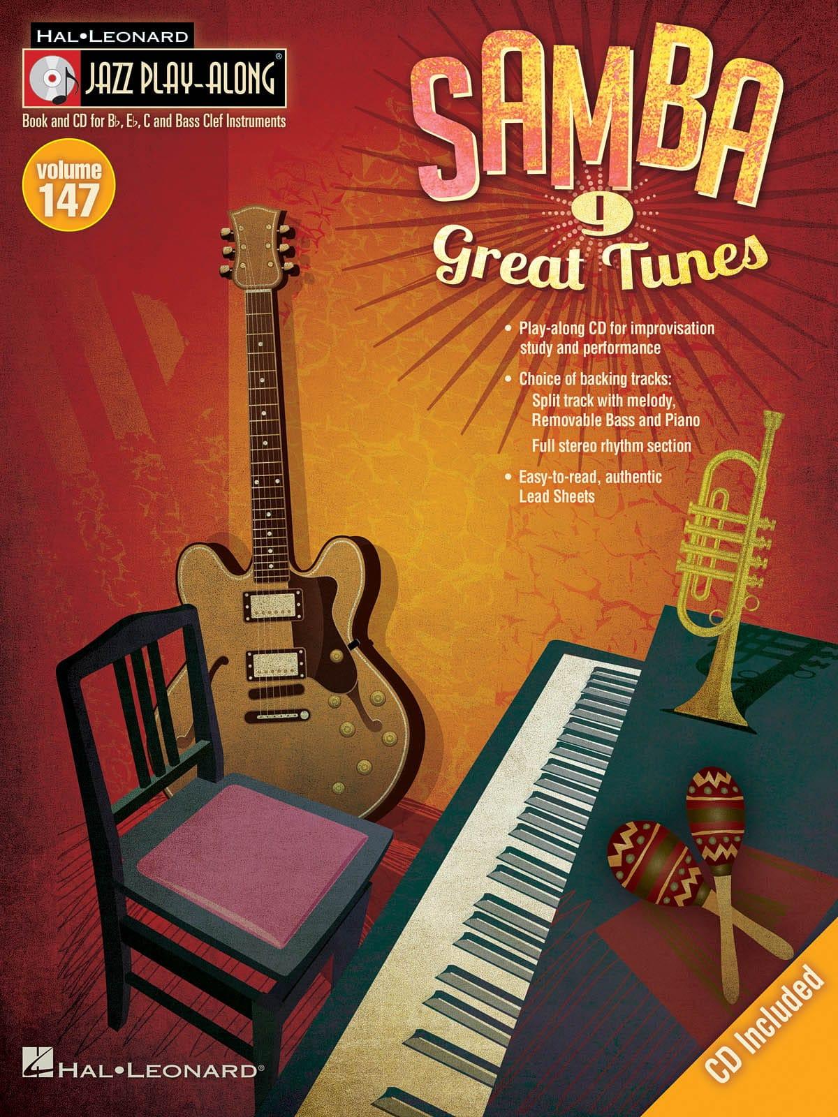 Jazz play-along volume 147 - Samba - Partition - laflutedepan.com