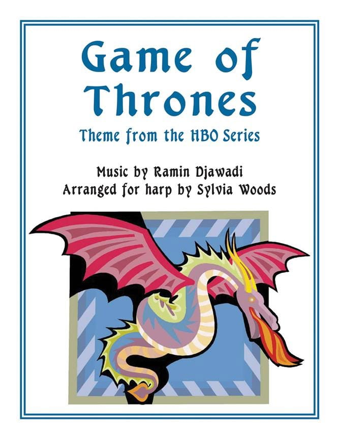 Game of Thrones Générique de la série TV - Le Trône de Fer - Harp - laflutedepan.com