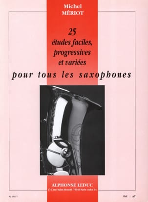25 Etudes Faciles Progressives Michel Mériot Partition laflutedepan