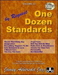 Volume 23 avec 2 CDs - One Dozen Standards laflutedepan