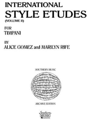 International Style Etudes Volume 2 Alice Gomez Partition laflutedepan