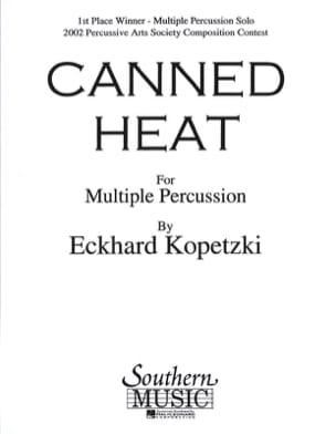 Canned heat Eckhard Kopetzki Partition laflutedepan