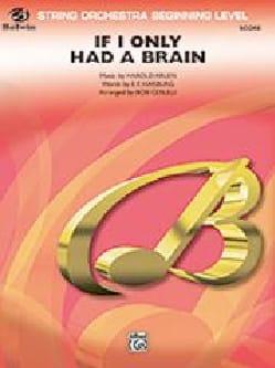 If I Only had a brain Le Magicien d'Oz Harold Arlen laflutedepan
