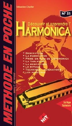 Sébastien Charlier - Méthode en Poche n°51 - Harmonica - Partition - di-arezzo.fr
