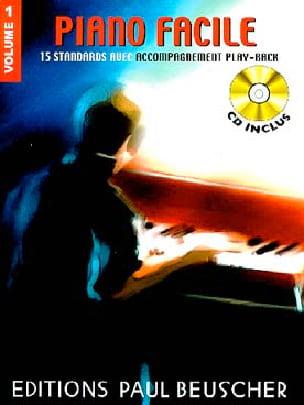 Piano Facile Volume 1 - Partition - Pop / Rock - laflutedepan.com