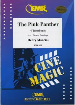 The Pink Panther - Quatuor de trombones MANCINI Partition laflutedepan