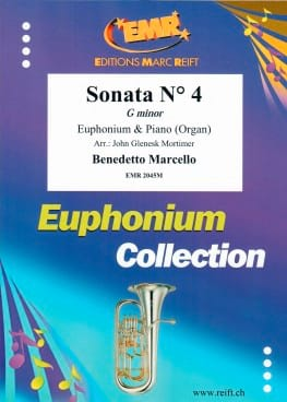 Sonata N° 4 in G Minor Benedetto Marcello Partition laflutedepan