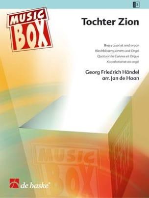 Tochter zion - music box HAENDEL Partition laflutedepan