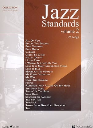 Jazz Standards Collection Volume 2 - Partition - laflutedepan.com