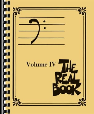 The real book volume 4 - Bass clef edition Partition laflutedepan