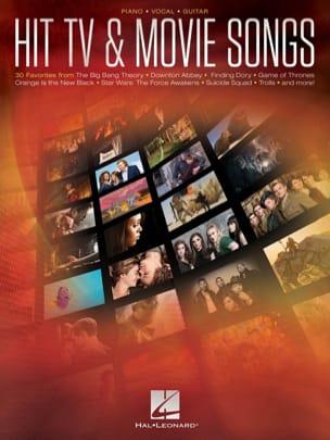 Hit TV & Movie Songs Partition Musique de film - laflutedepan