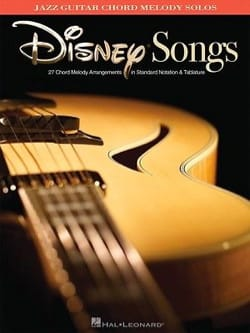 Jazz Guitar Chord Melody Solos - Disney - DISNEY - laflutedepan.com