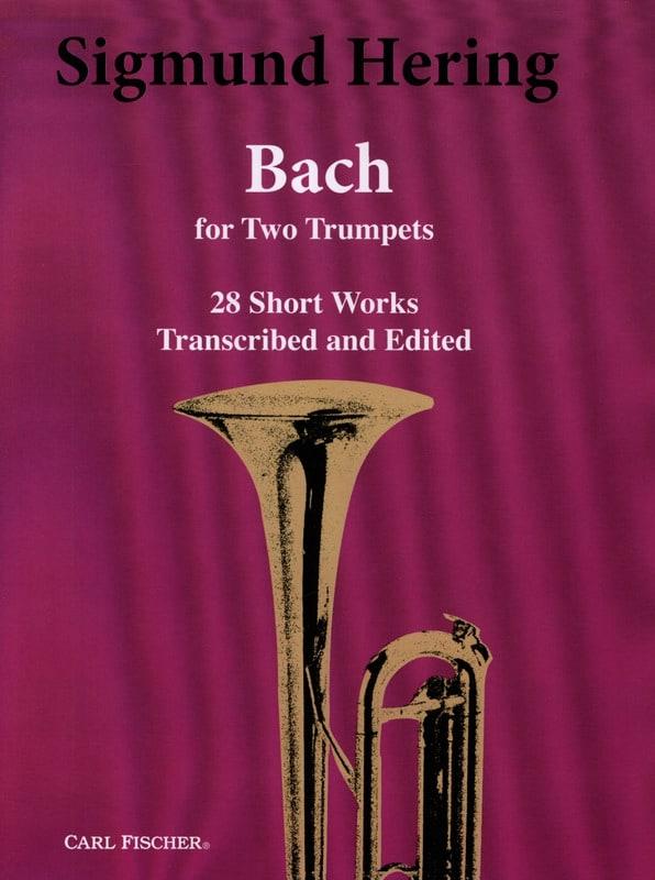28 short works - BACH - Partition - Trompette - laflutedepan.com