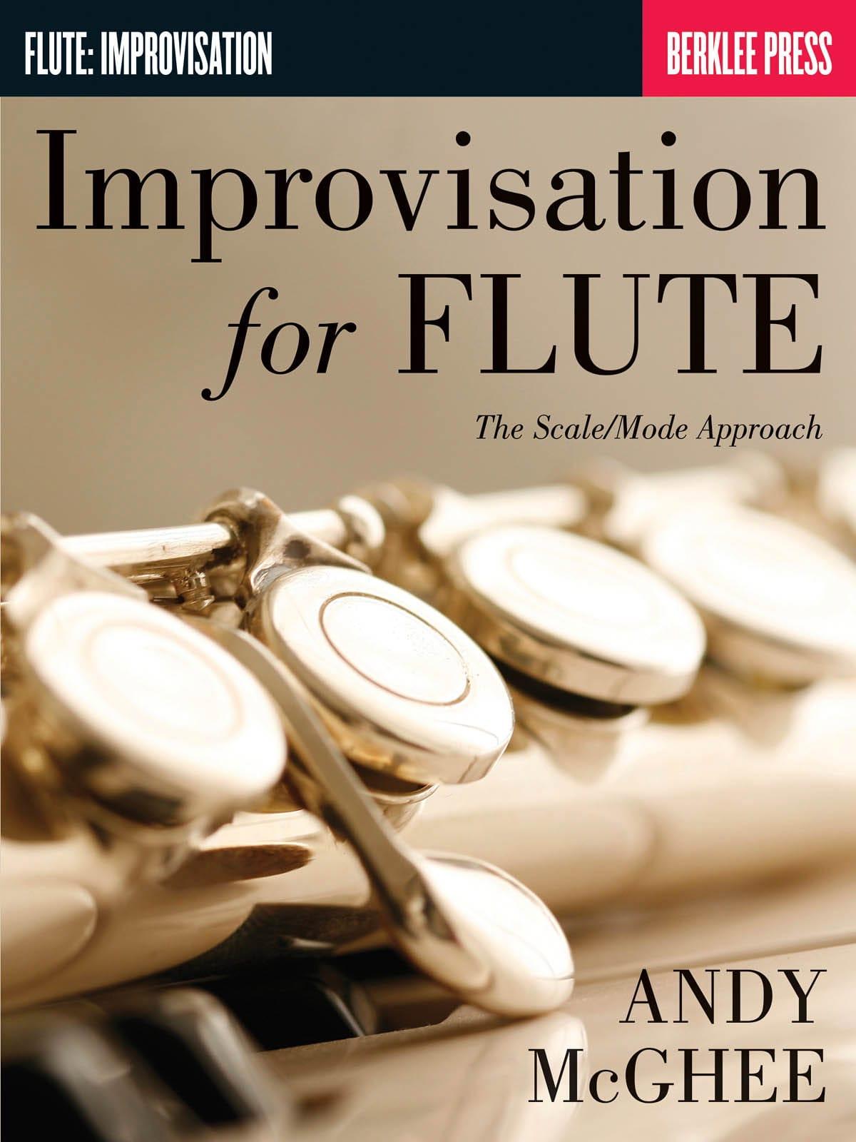 Improvisation For Flute - Andy McGhee - Partition - laflutedepan.com