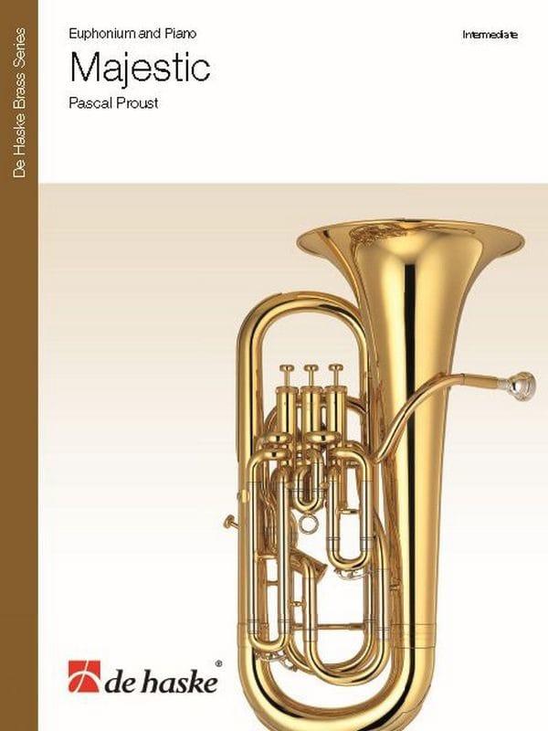 Majestic - Pascal Proust - Partition - Tuba - laflutedepan.com