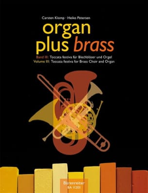 Organ plus brass volume 3 - Toccata festiva Partition laflutedepan