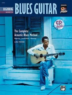 Beginning Acoustic Blues Guitar Lou Manzi Partition laflutedepan