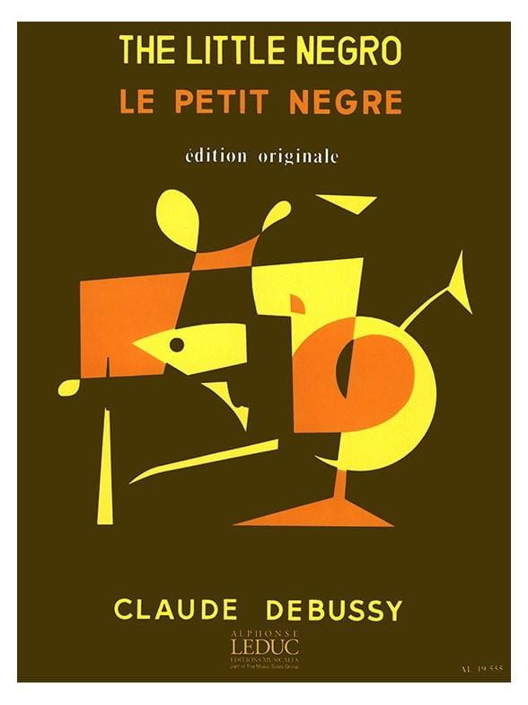 Le Petit Nègre - DEBUSSY - Partition - Saxophone - laflutedepan.com