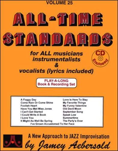 Volume 25 - All Time Standards - METHODE AEBERSOLD - laflutedepan.com
