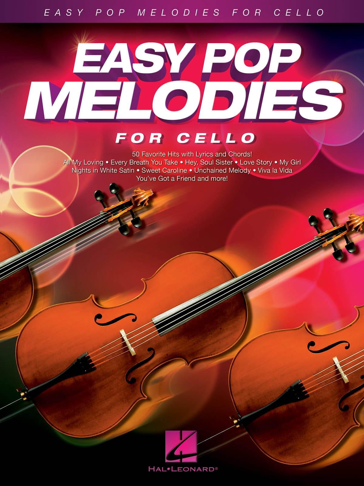 Easy Pop Melodies - Violoncelle - Partition - laflutedepan.com