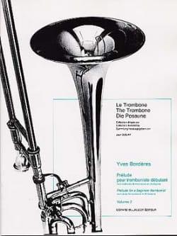 Prélude Pour Tromboniste Débutant Volume 2 Yves Borderes laflutedepan