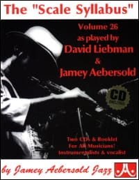 Volume 26 - The Scale Syllabus METHODE AEBERSOLD laflutedepan