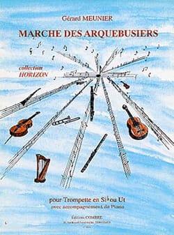 Marche des Arquebusiers Gérard Meunier Partition laflutedepan