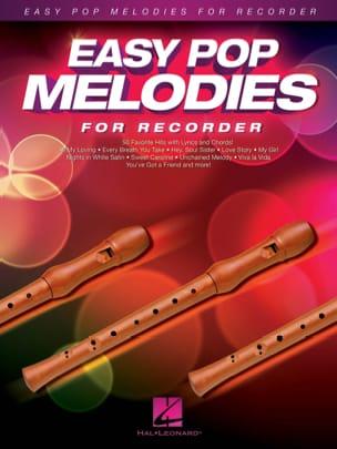 Easy Pop Melodies - Flûte à bec Partition Flûte à bec - laflutedepan