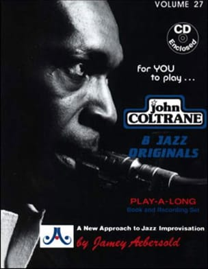 Volume 27 - John Coltrane METHODE AEBERSOLD Partition laflutedepan
