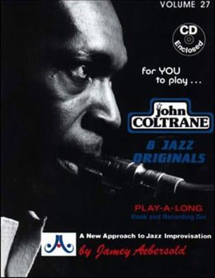 Volume 27 - John Coltrane METHODE AEBERSOLD Partition laflutedepan