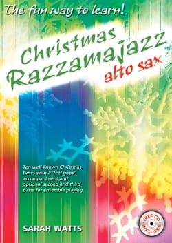 Christmas Razzamajazz Sarah Watts Partition Saxophone - laflutedepan