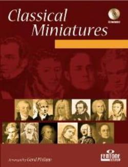 Classical Miniatures - Partition - Trompette - laflutedepan.com
